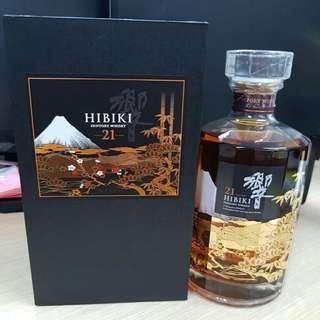 Hibiki 21 (limited mt fuji edition)