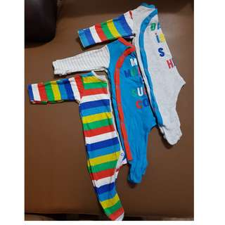 Mothercare sleepsuits to letgo