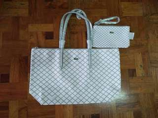 Lacoste Tote with Pouch