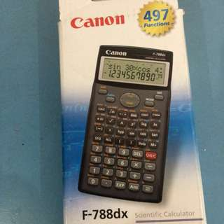 Canon F-788dx Scientific Calculator