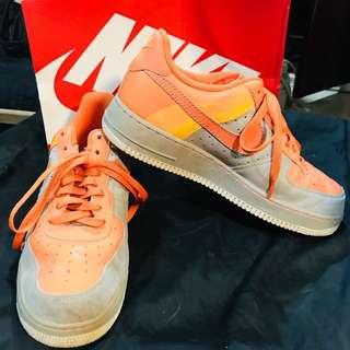 Original Nike Airforce 1 (in orange)
