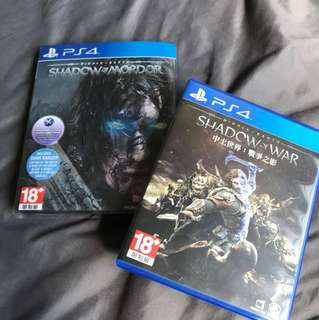 WTS shadow of Mordor and shadow of war