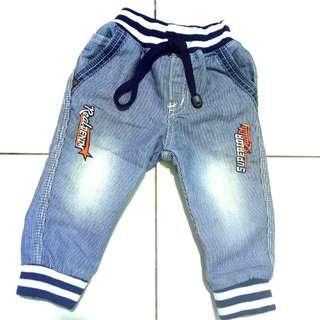 #MakinTebel celana jeans anak