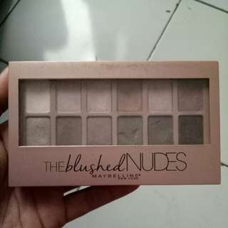 The Blushed NUDES eye shadow