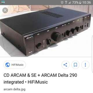 Arcam Delta 290 Integrated Amp