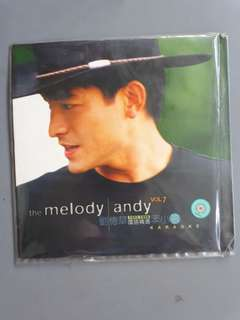 Andy Lau the Melody Vol. 7 (1993-1998) Karaoke 刘德华 国语精选 笨小孩 Karaoke Laser Disc