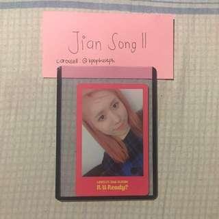 Lovelyz - R U Ready Official Photocard [JIN]