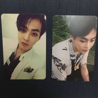 (OFFICIAL) Xiumin Photocard pt. 4