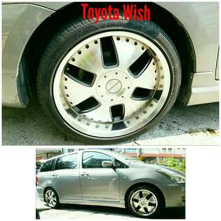 Tyre 235/40 R18 Membat on Toyota Wish 🐕 Super Offer 🙋‍♂️