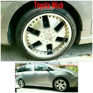 Tyre 235/40 R18 Membat on Toyota Wish 🐕 Super Offer 🙋♂️