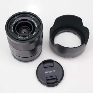 Sony E mount Prime Lens Sonnar T* E 24mm F1.8 ZA