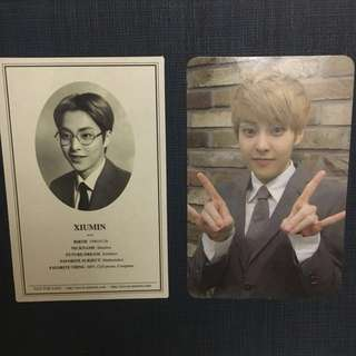 (OFFICIAL) Xiumin Photocard