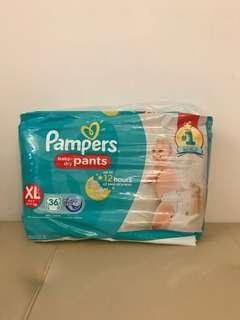 Pampers Pants (XL 36pcs) 12-17kg
