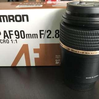 Tamron AF 90 mm F/2.8 Macro for Nikon