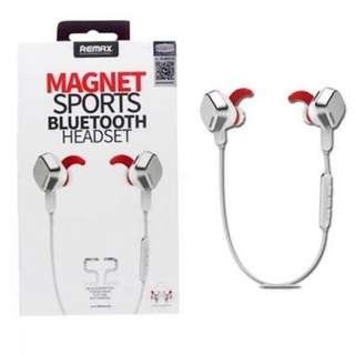 Remax S2 Magnet Sports Bluetooth 4.1 Headset (White)