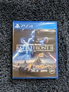 PS4 Starwars Battlefront 2