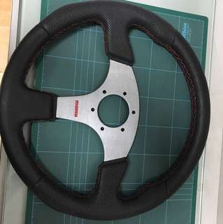 Momo replica steering wheel
