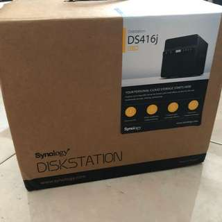 [BRAND NEW] Synology Disk Station 4-Bay Diskless Network Attached Storage NAS DS416j