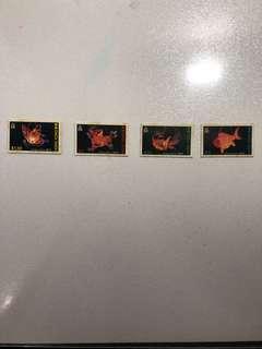 香港郵票-中國花燈