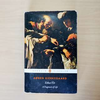 Soren Kierkegaard - Either/Or (Penguin Classics)