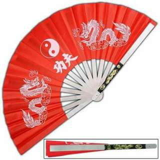 Japanese Iron or Kung Fu Fan