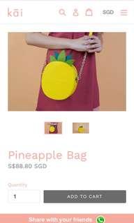 IAMKAI Pineapple Bag
