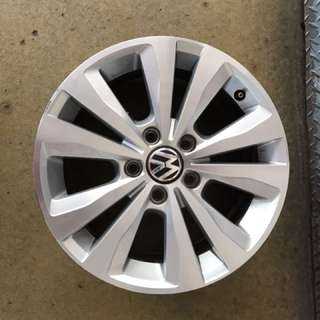 "16"" 5x112 vw jetta original rim $70pc"