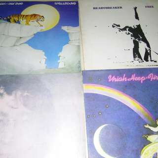 Rock LP FOR SALE @ $10 EACH John Lennon Deep Purple CCR URIAH HEEP ETC