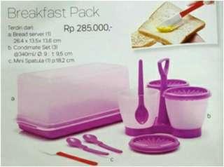 Breakfast pack tupperware