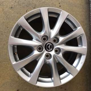 "17"" 5x114 mazda original new car rim $130pc"