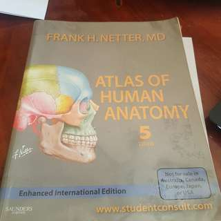 Netter's Atlas of Human Anatomy 5th Ed.