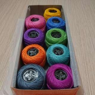 玫瑰牌綉花線球thread balls