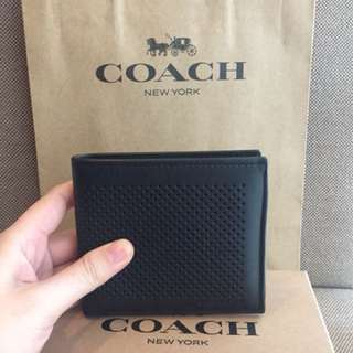 Authentic/ Original Coach Bilfold Wallet