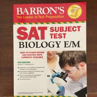 Barron's SAT Biology Subject Test