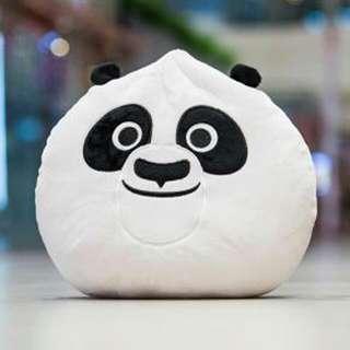 Brand New DreamWorks Kou Kou Koukou Po Kungfu Panda Plush Cushion Pillow