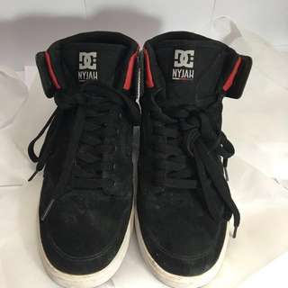 DC NYJAH HIGH BLACK ORIGINAL Skateboard/ Sneakers/ Casual Shoes