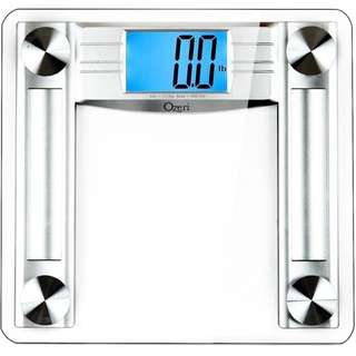 Ozeri ProMax 230 kg (500 lbs) Digital Bath Scale, with Body Tape Measure & Fat Caliper