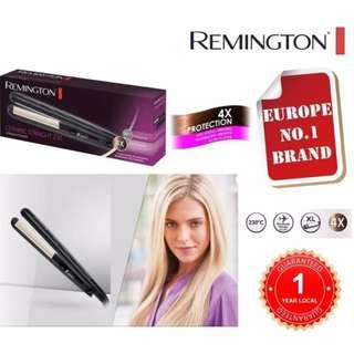 REMINGTON S3500 Hair Straightener with Anti Static Ceramic Tourmaline Plates and Temperature 150-230c [UNIVERSAL VOLTAGE][1 YEAR LOCAL GUARANTEE]