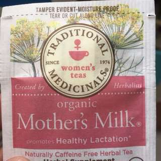 Mother's Milk Tea lactation aid
