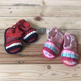 Next ruffled sandals