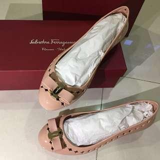 Brand New Ferragamo Jelly Shoe
