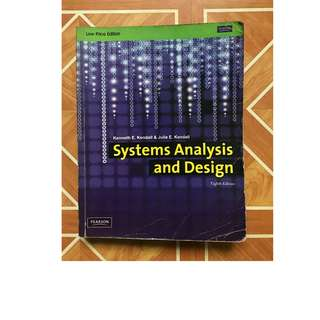 Systems Analysis and Design (Pearson) 8th edition
