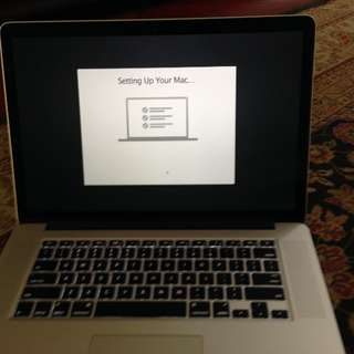 MacBook Pro 15 inch late 2013 iris pro