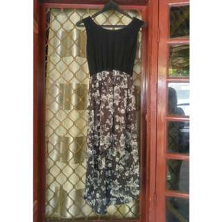 Dress bunga lucu