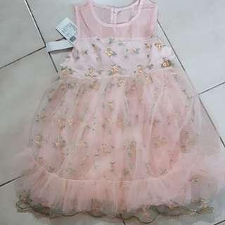 Dress princess anak