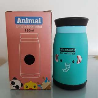 BNIB Elephant design vacuum flask