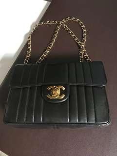 罕有直紋 Chanel vintage