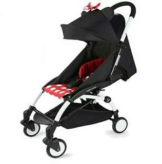 BN FREE DELIVERY Minnie Mouse Compact Baby Stroller
