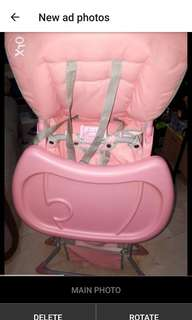 Baby co high chair on sale like new