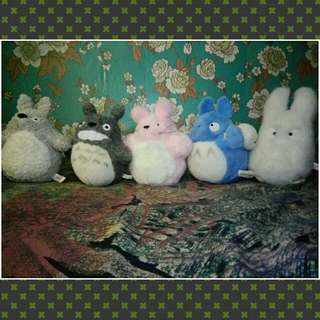 TOTORO PLUSHIES COLLECTION